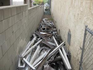 Side Debris