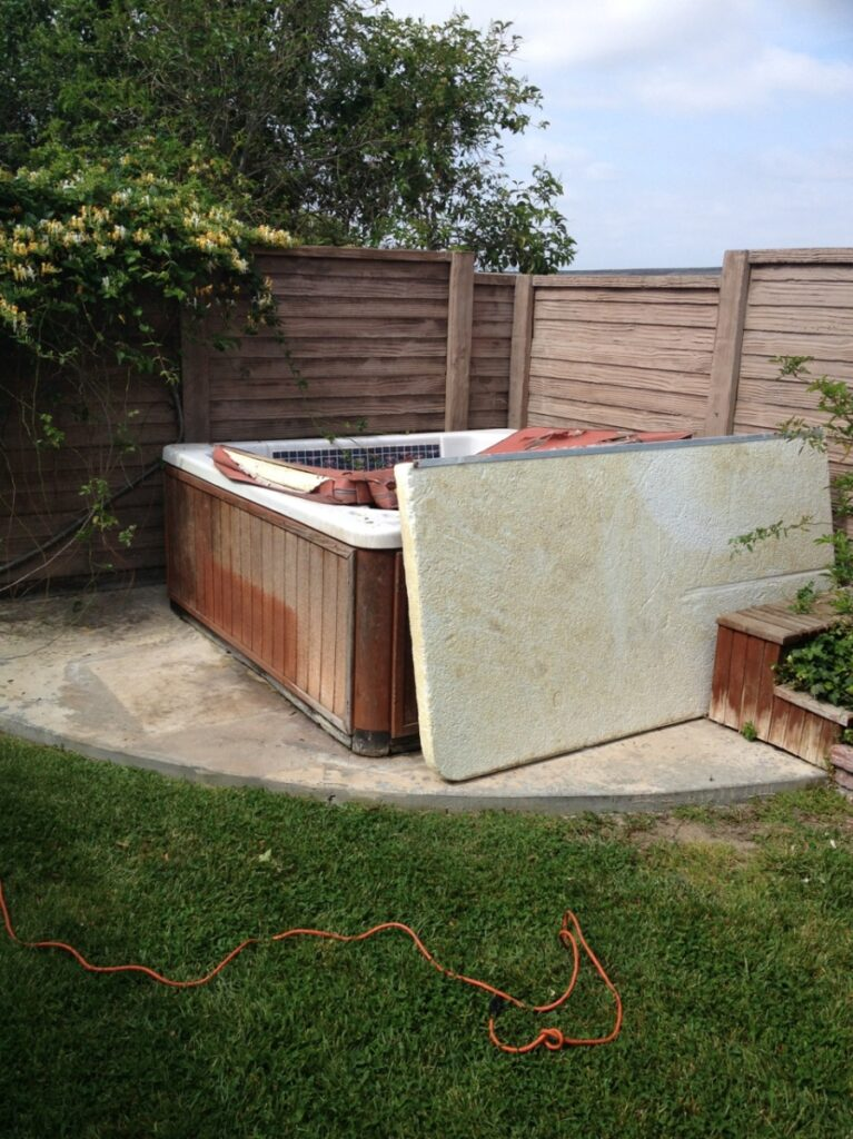 Jacuzzi Removal A Junk Free Planet