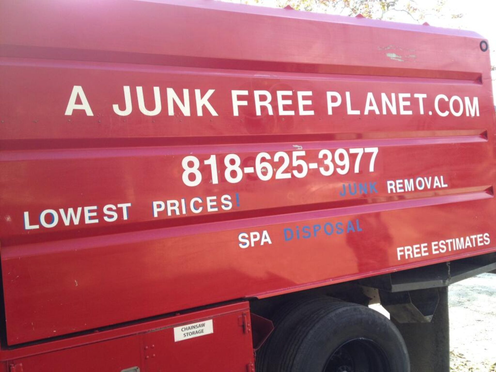 DUMPSTER RENTALS 24/7 SERVICE – JUNK HAULING – JUNK REMOVAL – HOT TUB REMOVAL SERVICE